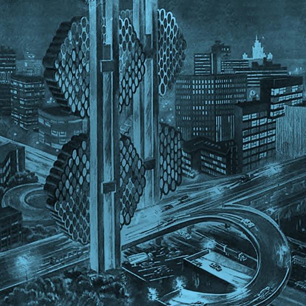 Лифт в космос  и город-плотина: Каким видели будущее в СССР — Будущее на Look At Me