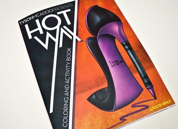 Раскраски Hot Wax для взрослых — Дизайн на Look At Me