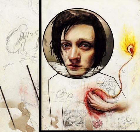 Галя Губченко — Иллюстрация на Look At Me