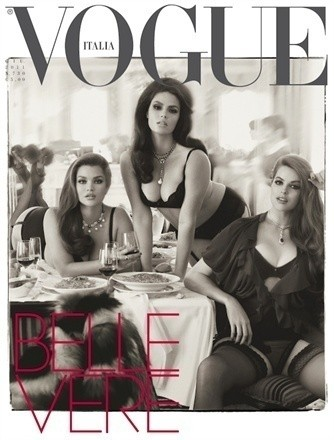 Belle Vere by Steven Meisel — Мода на Look At Me