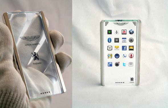 Концепт телефона Mobiado CPT002 Aston Martin — Наука и Технологии на Look At Me