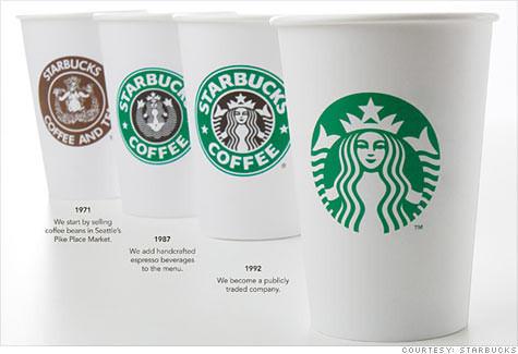 Starbucks меняет лицо