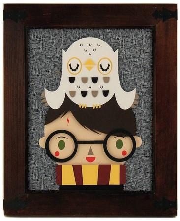 Мир Гарри Поттера глазами художников — Иллюстрация на Look At Me