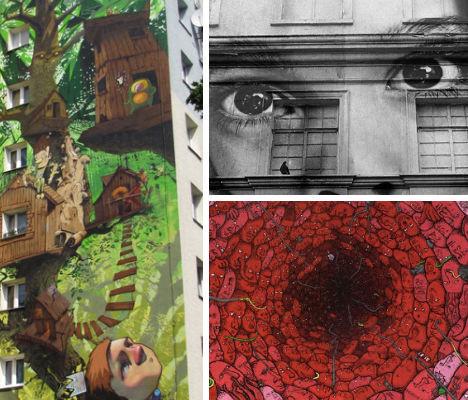6 невероятных проектов уличных фресок — Стрит-арт на Look At Me