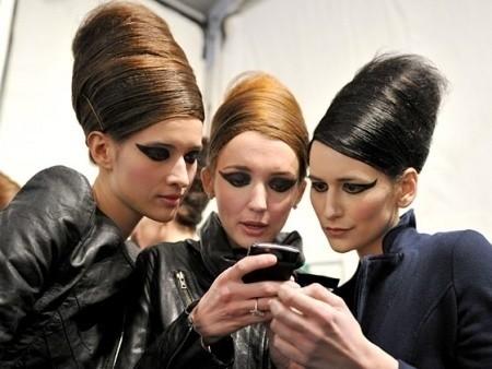 Beauty looks на неделе моды в Нью-Йорке — Мода на Look At Me
