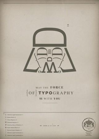 Да пребудет с вами сила типографики! — Дизайн на Look At Me
