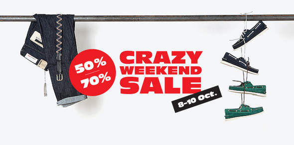 Crazy Weekend Sale @ FOTT — FOTT на Look At Me
