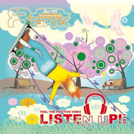 Listen Up! 2011 - почувствуй позитивные вибрации drum&bass музыки!