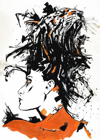 Графика и иллюстрации Александра Кожухова — Иллюстрация на Look At Me