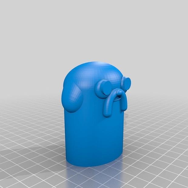 Как печатает 3D-принтер: Джейк из «Поры приключений»