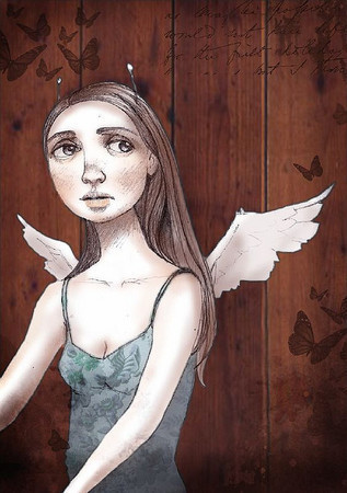 Вероника Наваро - Случайные мысли — Иллюстрация на Look At Me