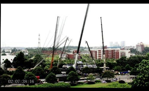 Китайцы построили 15-этажную гостницу за 6 дней! (видео)