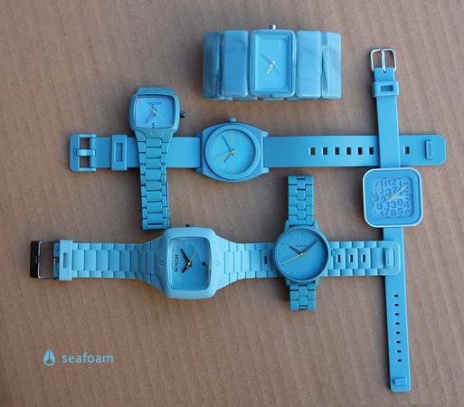Серия Seafoam от NIXON — Дизайн на Look At Me