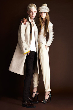 Лукбук Burberry Prorsum Resort 2012 — Мода на Look At Me
