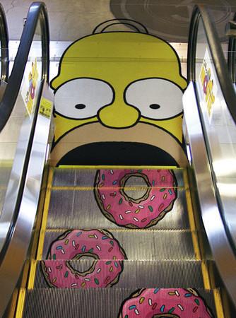Эскалатор как новое медиа — Реклама на Look At Me