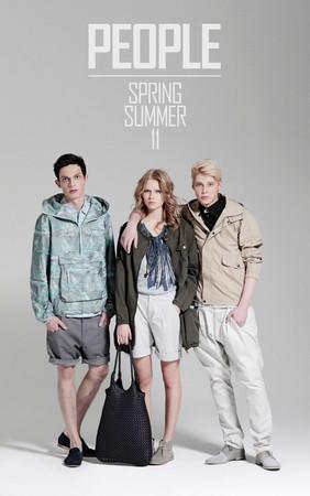 К сезону весна/лето 2011 PEOPLE выпустили свежую коллекцию