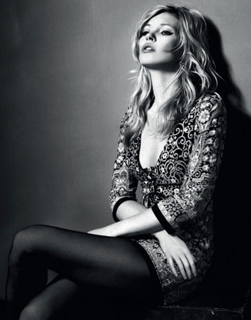 Первые снимки Kate Moss for Topshop — Мода на Look At Me