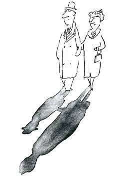 Мечтатель Jean-Jacques Sempe — Иллюстрация на Look At Me