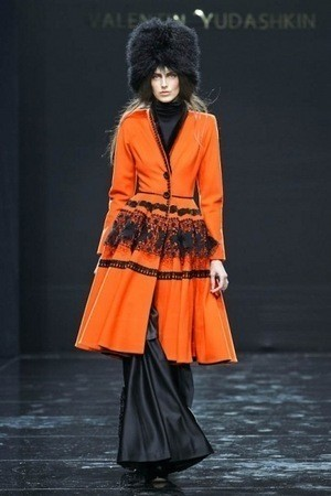 Volvo Fashion Week. День 1. Valentin Yudashkin fall-winter 2011/12
