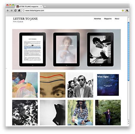 Журнал Letter to Jane на iPad — Медиа на Look At Me