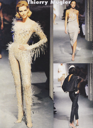 Thierry Mugler 90-х. Одежда не для толпы, а для истории — Мода на Look At Me