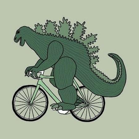 Велосипеды Майка Джууса — Иллюстрация на Look At Me
