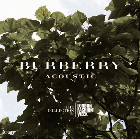 Burberry выпускают альбом саундтреков — Мода на Look At Me