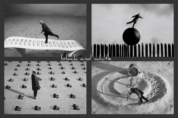 Gilbert Garcin и его честное черно-белое — Фотография на Look At Me