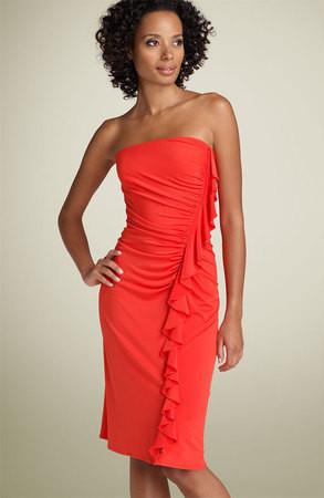 Коралловое платье — Промо на Look At Me