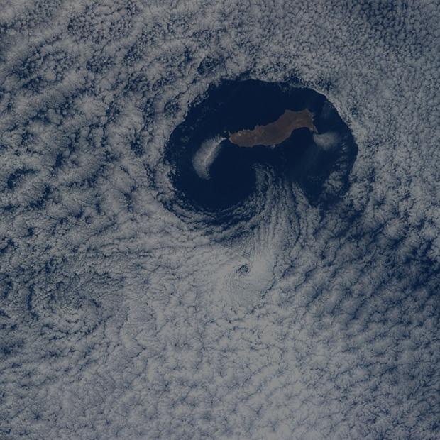 Облака из космоса: Какой видят Землю космонавты МКС