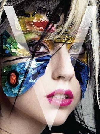 Lady GaGa в журнале V. Июнь 2011 — Мода на Look At Me