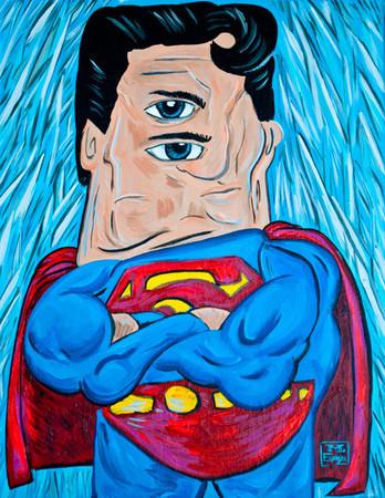 Супергерои в стиле Пабло Пикассо