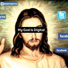 My God is Digital — Реклама на Look At Me