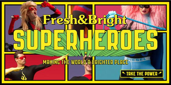 Бельё для Супергероев
