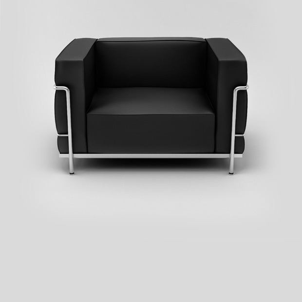 Дизайн-объект: Лучшее кресло Ле Корбюзье — Детали на Look At Me