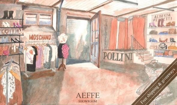 New! AEFFE showroom: www.aeffe.ru Moschino, Alberta Ferretti, Jean Paul Gaultier, Pollini — Промо на Look At Me