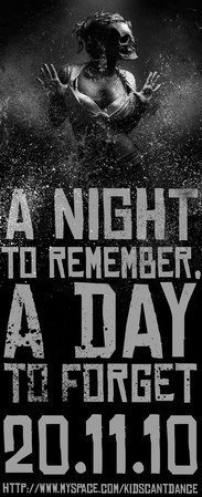 A Night To Remeber, A Day To Forget (LP) 2010 — Музыка на Look At Me
