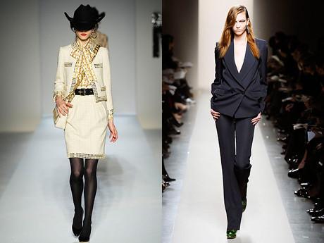 Модные костюмы осень-зима 2010-2011