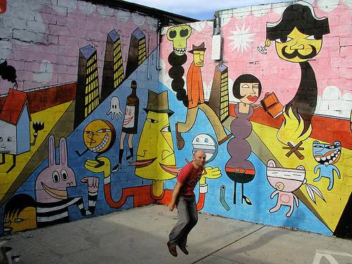 Jim Avignon — Стрит-арт на Look At Me