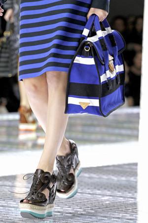 Полосочка - модные тренды Весны 2011 от Prada — Мода на Look At Me