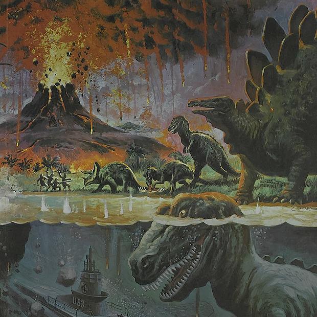 Как менялись динозавры  в кино