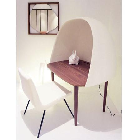 Личное дело: мебельные «ракушки» для персонального пространства — Дизайн на Look At Me