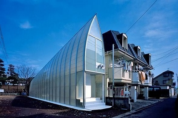 Инновационный микродом в Токио — Архитектура на Look At Me