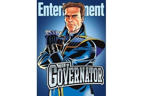 The Governator: Шварценеггер станет супергероем — Новости на Look At Me