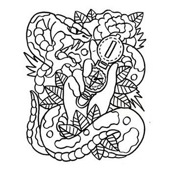 Энциклопедия символов татуировки. Часть I