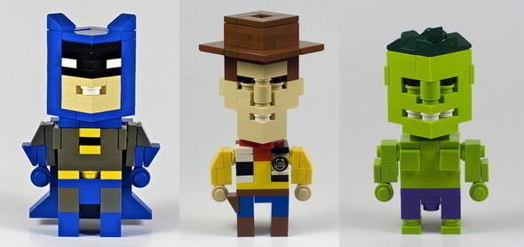 Lego-герои CubeDude — Игры на Look At Me