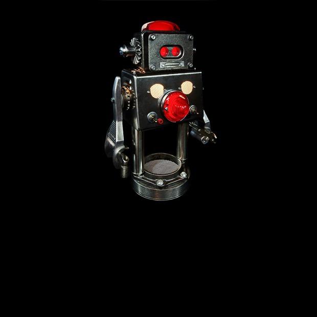 Фото: забавные роботы из промышленного мусора  — Репортаж на Look At Me
