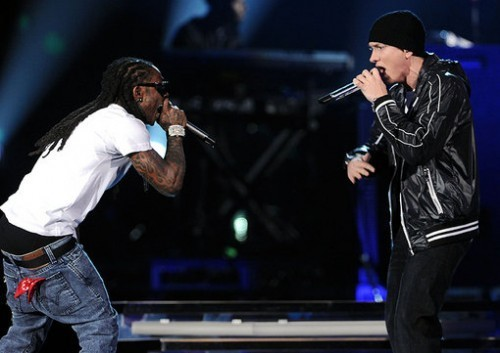 Eminem feat. Lil Wayne - No Love — Видеоклипы на Look At Me