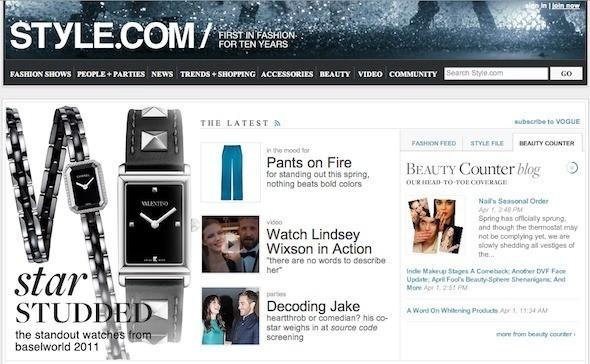 У Style.com появится печатная версия — Мода на Look At Me