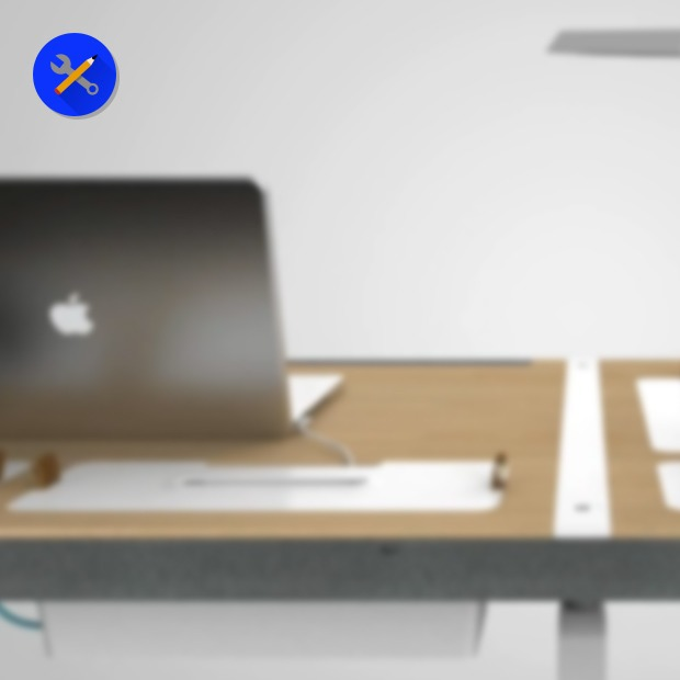 Концепт недели: стол, который всегда в порядке